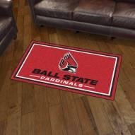 Ball State Cardinals 3' x 5' Area Rug