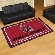 Ball State Cardinals 5' x 8' Area Rug