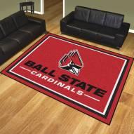 Ball State Cardinals 8' x 10' Area Rug