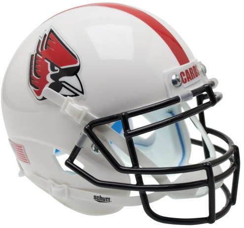 Ball State Cardinals Alternate 2 Schutt Mini Football Helmet