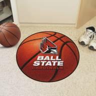 Ball State Cardinals Basketball Mat