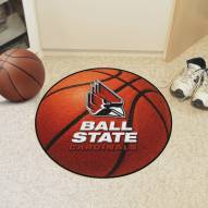 Ball State Cardinals Basketball Mat