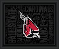 Ball State Cardinals College Word Cloud