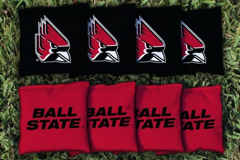 Ball State Cardinals Cornhole Bag Set
