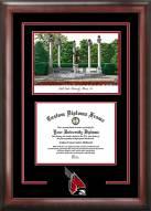 Ball State Cardinals Spirit Diploma Frame with Campus Image