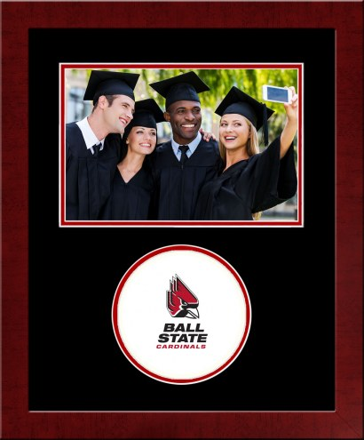 Ball State Cardinals Spirit Horizontal Photo Frame