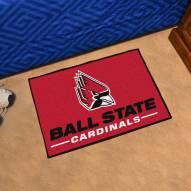 Ball State Cardinals Starter Rug