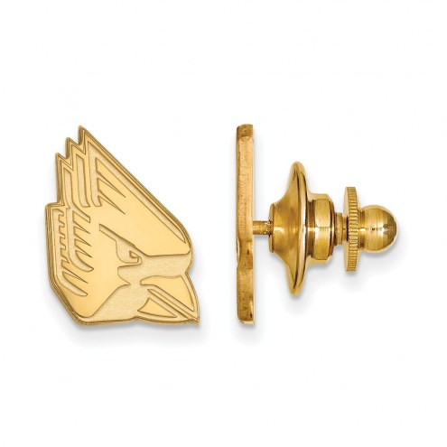 Ball State Cardinals Sterling Silver Gold Plated Lapel Pin