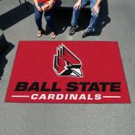 Ball State Cardinals Ulti-Mat Area Rug