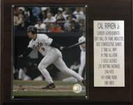 "Baltimore Orioles 12"" x 15"" Cal Ripken Jr. Career Stat Plaque"