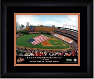 Baltimore Orioles 13 x 16 Personalized Framed Stadium Print