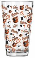 Baltimore Orioles 16 oz. All Over Print Pint Glass