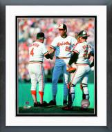 Baltimore Orioles 1982 Action Framed Photo