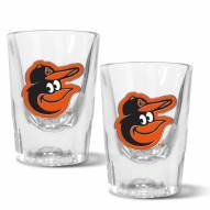 Baltimore Orioles 2 oz. Prism Shot Glass Set