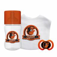 Baltimore Orioles 3-Piece Baby Gift Set