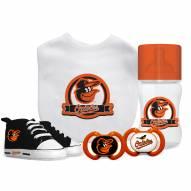 Baltimore Orioles 5-Piece Baby Gift Set