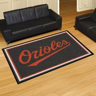 Baltimore Orioles 5' x 8' Area Rug