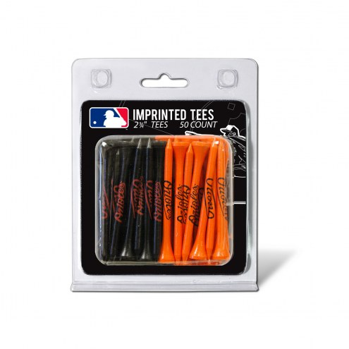 Baltimore Orioles 50 Golf Tee Pack