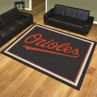Baltimore Orioles 8' x 10' Area Rug