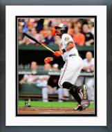 Baltimore Orioles Adam Jones Action Framed Photo
