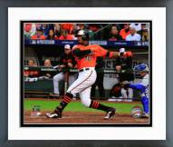Baltimore Orioles Adam Jones Home Run Framed Photo