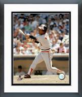 Baltimore Orioles Al Bumbry Batting Framed Photo