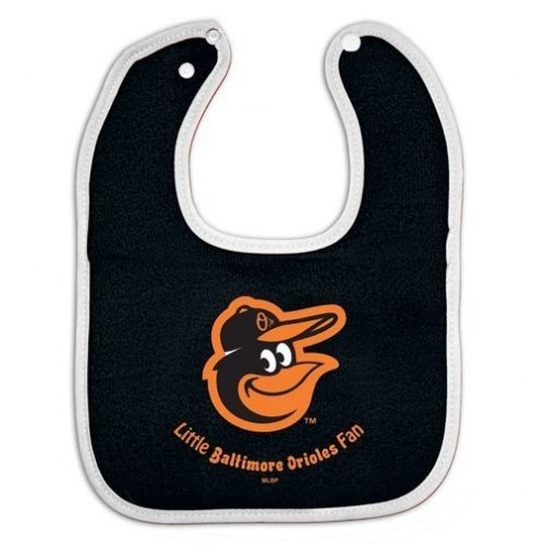 Baltimore Orioles All Pro Little Fan Baby Bib