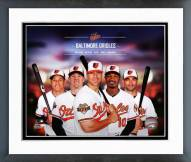 Baltimore Orioles Baltimore Orioles Team Composite Framed Photo