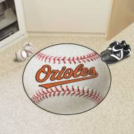 Baltimore Orioles Baseball Rug