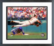 Baltimore Orioles Billy Ripken Action Framed Photo