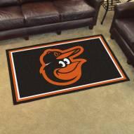 Baltimore Orioles Bird 4' x 6' Area Rug