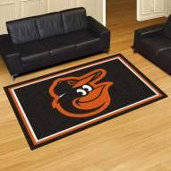 Baltimore Orioles Bird 5' x 8' Area Rug
