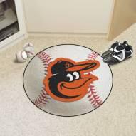 Baltimore Orioles Bird Baseball Rug