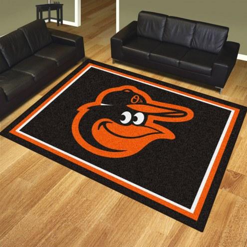 Baltimore Orioles Bird Logo 8' x 10' Area Rug