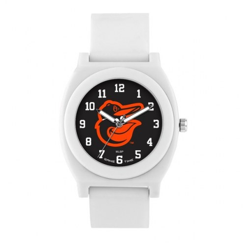 Baltimore Orioles Unisex Fan White Watch