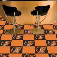 Baltimore Orioles Bird Team Carpet Tiles