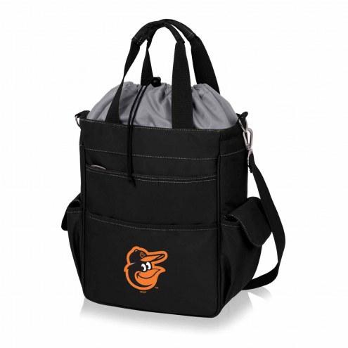 Baltimore Orioles Black Activo Cooler Tote