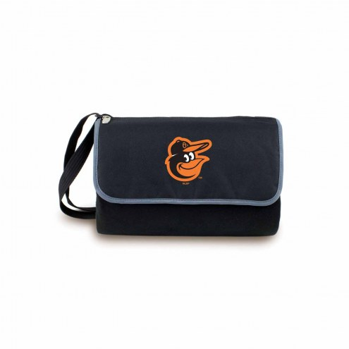 Baltimore Orioles Black Blanket Tote