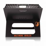 Baltimore Orioles Black Portable Charcoal X-Grill