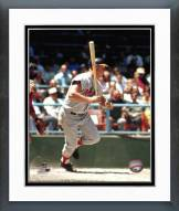 Baltimore Orioles Boog Powell Action Framed Photo
