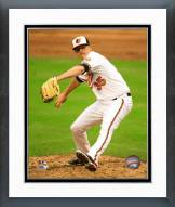 Baltimore Orioles Brad Brach Action Framed Photo