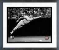 Baltimore Orioles Brooks Robinson 1973 Diving Catch Framed Photo