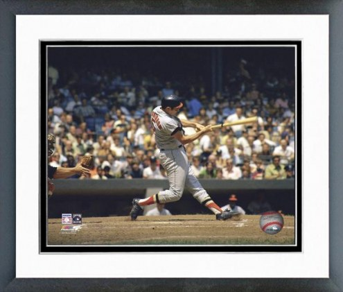Baltimore Orioles Brooks Robinson Batting Action Framed Photo
