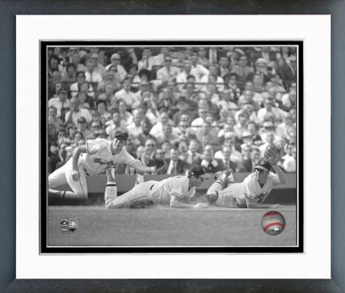 Baltimore Orioles Brooks Robinson  Multi-Exposure Framed Photo