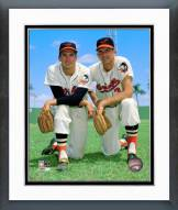 Baltimore Orioles Brooks Robinson & Ron Hansen Posed Framed Photo