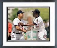 Baltimore Orioles Cal Ripken and Eddie Murray 3000th Hit Club Framed Photo