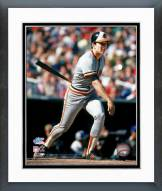 Baltimore Orioles Cal Ripken Jr. 1983 World Series Action Framed Photo