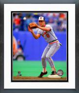 Baltimore Orioles Cal Ripken Jr. 1987 Fielding Action Framed Photo