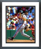 Baltimore Orioles Cal Ripken Jr. 1993 Action Framed Photo