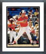 Baltimore Orioles Cal Ripken Jr. Action Framed Photo